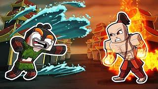 Avatar - Firebender vs Waterbender! (Minecraft Roleplay)
