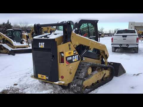 CATERPILLAR SKID STEER LOADERS 259DSTD2CA equipment video n3NnuLzkxJI