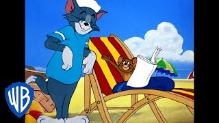 Tom & Jerry | A Seaside Adventure! | Classic Cartoon Compilation | WB Kids