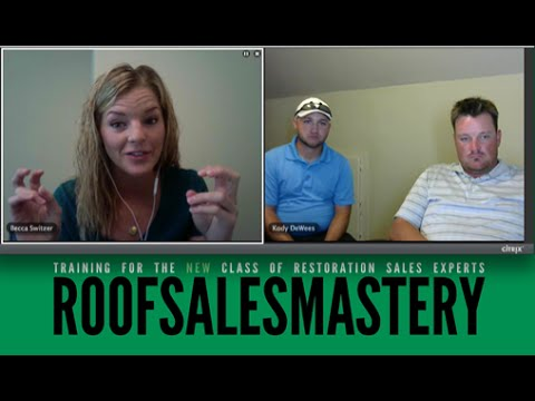 Roof Sales Mastery - One of the Best Door Knocking Tips