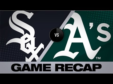 Video: Laureano, Pinder lead clutch walk-off win | White Sox-A's Game Highlights 7/14/19