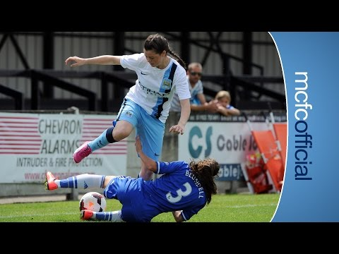 Video: AMAZING SOLO GOAL | Natasha Flint Strike | Chelsea 2-1 MCWFC