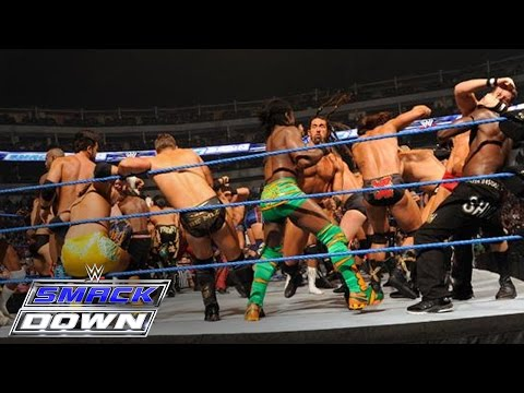 length - Oct. 14, 2011 - The largest Battle Royal in WWE history takes place on SmackDown with the winner receiving a Championship Match of their choosing later in th...