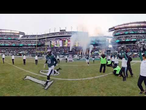 360 View Of Philadelphia Eagles Gameday