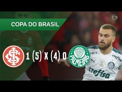 Internacional 1-0 Palmeiras (Copa do Brasil 2019) ...