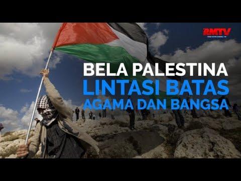 Bela Palestina Lintasi Batas Agama dan Bangsa