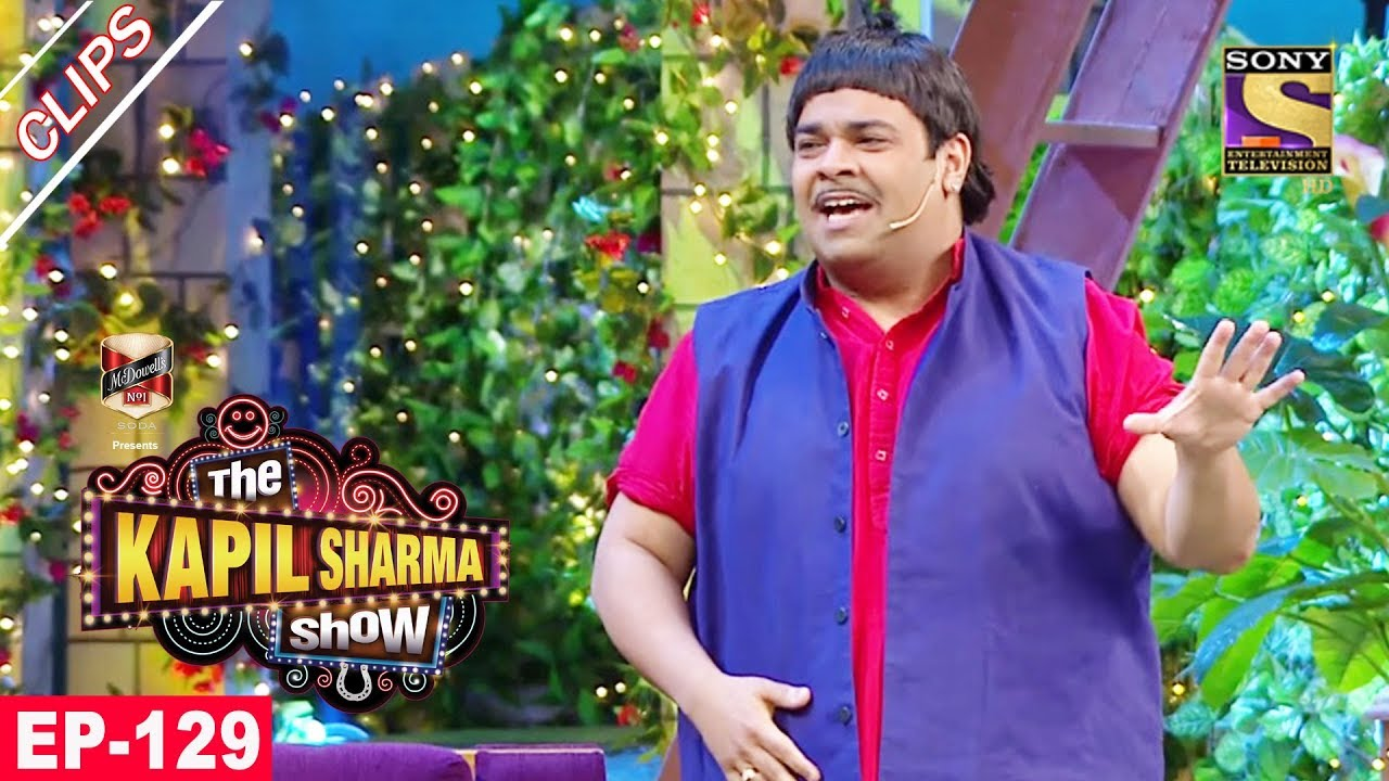 Baccha Yadav's Encounter With ACP Pradyuman – The Kapil Sharma Show – 20th August, 2017