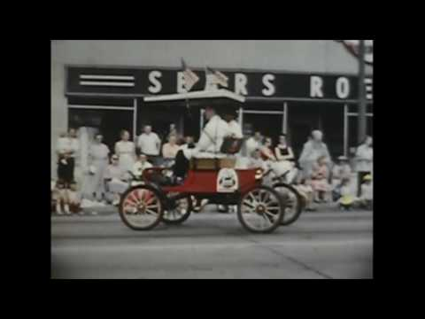 Michigan City and LaPorte, Indiana Parades 1960