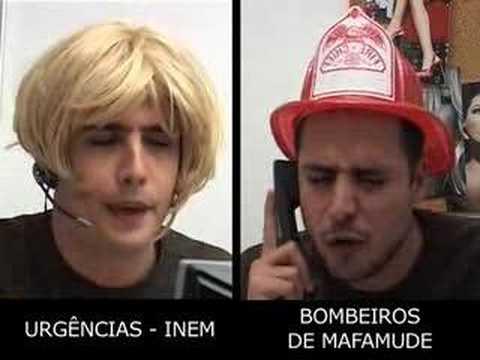 Hot Line (INEM - Bombeiros de Mafamude) - Gato Fedorento