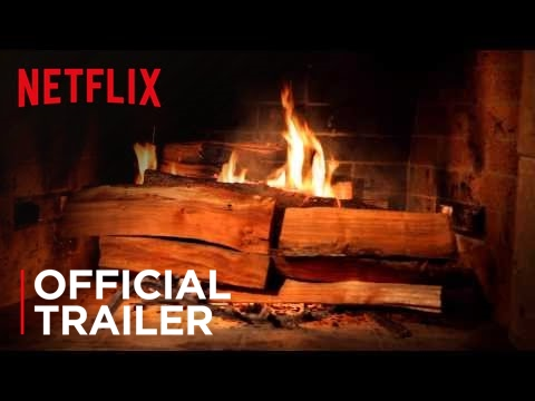 Netflix posted this on its Facebook account this morning: Fireplace For Your Home - Official Trailer