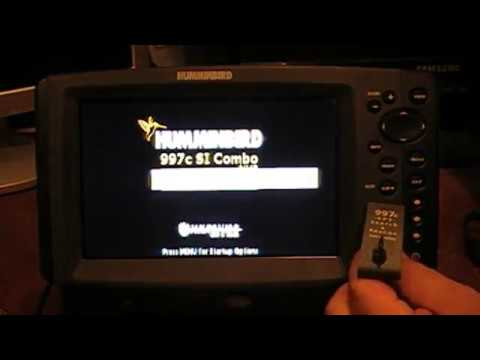 How to Update the Software on your Humminbird Side Imaging Unit