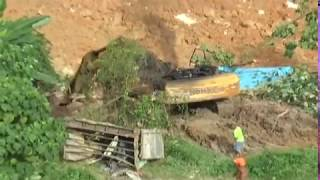 Bomba percaya berlaku aliran air bawah tanah