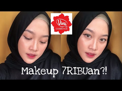 Gila Makeup 7ribuann?!😍😍 Viva One Brand Makeup (review + First Impression)  - Wellisna Merduani