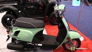 5. 2016 Kymco Compagno 110i Scooter - Walkaround - 2015 AIMExpo Orlando