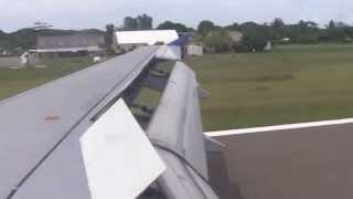 Brisbane - Honiara, A320 (H4-BUS) Solomon Airlines, (19/12/12)
