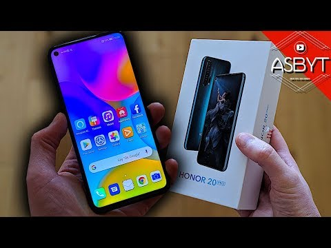 Honor 20 Pro UNBOXING & First REVIEW!