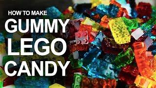 Jak zrobić żelkowe klocki LEGO?