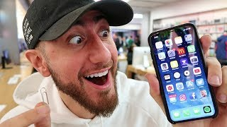 Trading A Paperclip For An iPhone X!