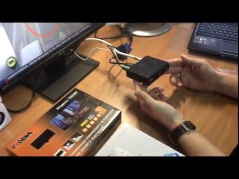 Цифровой телевизор DVB-T2 из монитора