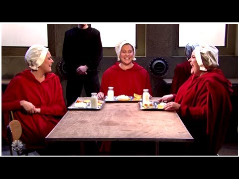 'Handmaid's Tale' Meets 'Sex And The City' In Funny, Terrifying 'SNL' Spoof