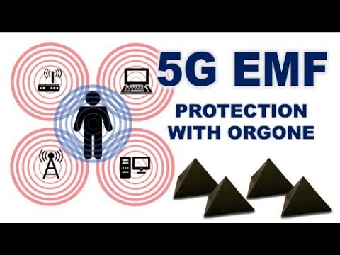 5G EMF Protection With Orgonite