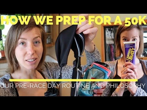 How we prepare for an ultra trail race- the day before (Trail running tips)