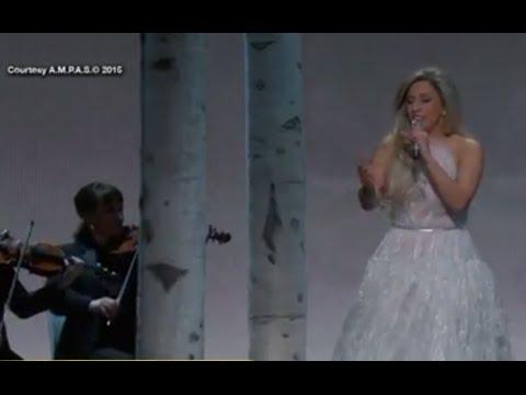 ليدي جاجا تبهر جمهور الأوسكار بهدوئها في غناء The Sound Of Music
