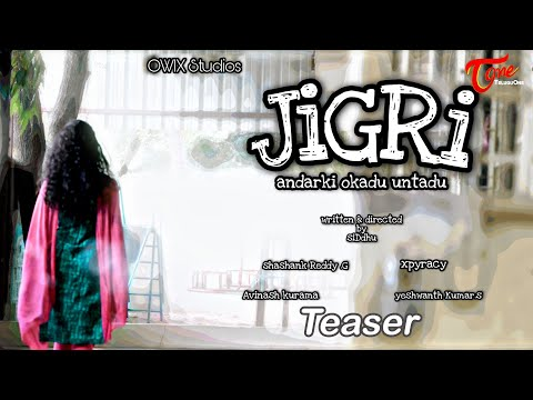 JIGRI | Latest Telugu Short Film Teaser 2020 | Written & Directed by Siddhu | TeluguOne