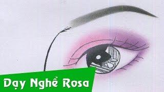 Trang điểm mắt đẹp - Tone hồng tím kiểu nhấn hóc
