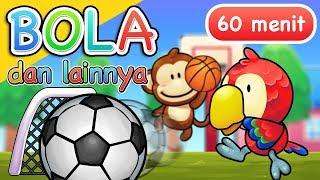 Video Lagu Anak Anak | Bola dan Lainnya | 60 Menit MP3, 3GP, MP4, WEBM, AVI, FLV Maret 2019