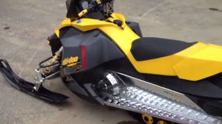 9. Cleaned up 2008 skidoo rev xp 600 HO