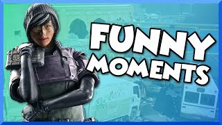 Rainbow Six Siege Funny Moments - NEW White Noise Operators, Salty Reactions, and Club Dancing!
