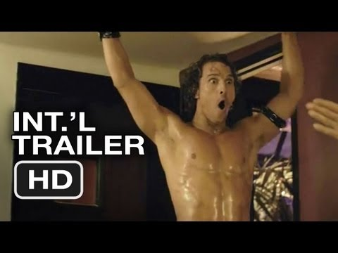 Magic Mike International Trailer (2012) Channing Tatum Stripper Movie HD Video