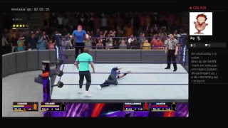 WWE 2K18 Crundee vs Popularmmos & DanTDM