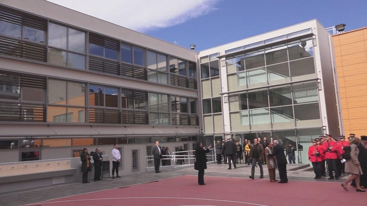 Ο ΠτΔ εγκαινίασε το Ενιαίο Ειδικό Επαγγελματικό Γυμνάσιο Λύκειο Αθήνας