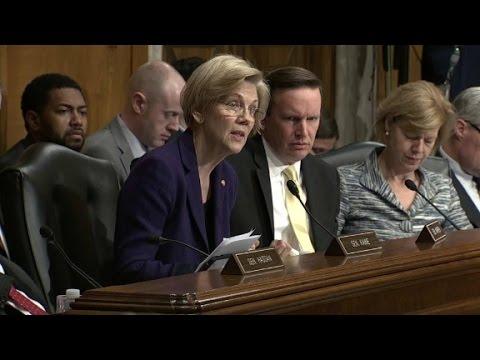 Warren challenges Trump's education pick