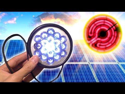 Необычный эксперимент с солнечной батареей. Занимательная физика