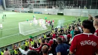 Meccs utáni jelenetek - Szurkolók vs Játékosok - Andorra vs Magyarország 1-0 +18.