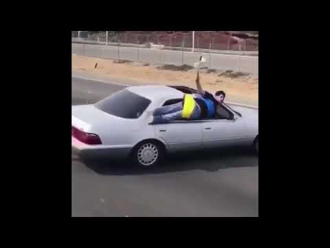 When You Pull Up To The Warriors Parade Like..... [BayAreaCompass]