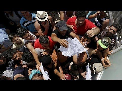 Κως: Συγκρούσεις αστυνομικών και μεταναστών