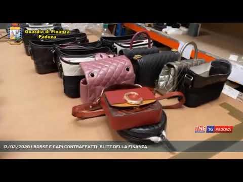 13/02/2020 | BORSE E CAPI CONTRAFFATTI: BLITZ DELLA FINANZA