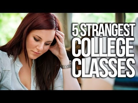 strangest - The internet brings you a list of the strangest college classes around! Buy some awesomeness for yourself! http://www.forhumanpeoples.com/collections/sourcefed Our Sources: http://read.b...