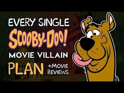 Every Scooby-Doo Movie Villain Plan! (+Movie Reviews)