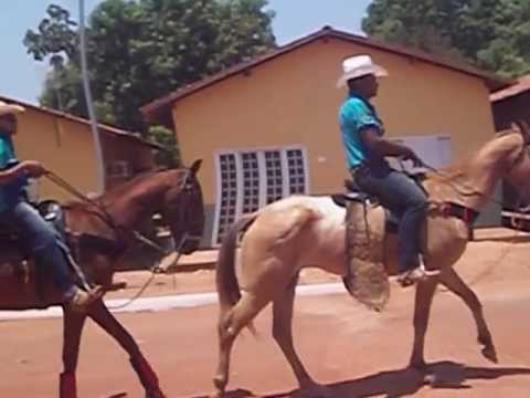Cavalgada do palmeirante