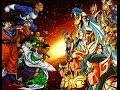 FIGHT!! Caballeros del Zodiaco Vs Dragon Ball Z- Guerreros Z Vs Santos Dorados