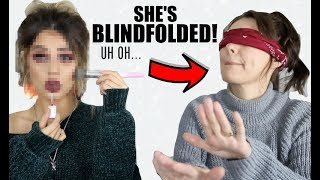 Video MY MUM CHOOSES MY MAKEUP FOR A TUTORIAL...BLINDFOLDED!! UH OH MP3, 3GP, MP4, WEBM, AVI, FLV Oktober 2018