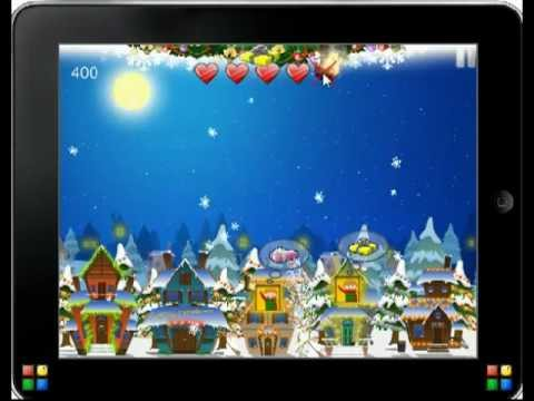 Video of Santa Floating Gifts HD