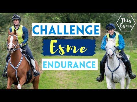 Endurance Challenge Esme! AD We Went So FAST!! | This Esme