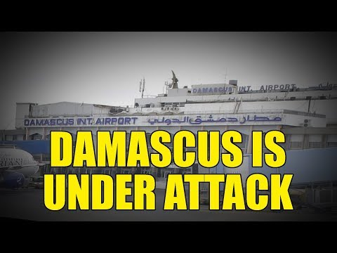 BREAKING NEWS! Damascus Thwarts Airstrike! (видео)
