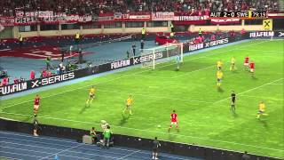 Marko Arnautovic im Spiel gegen die Schweden